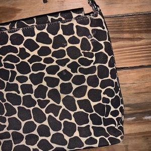 kate spade Bags - Vintage Kate Spade Giraffe Print Handbag Purse